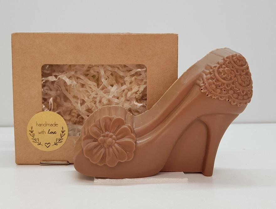 Шоколадная туфелька :: Шоколад. Купить шоколад с доставкой.